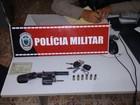 PM apreende oito armas de fogo na PB apenas na noite da sexta-feira