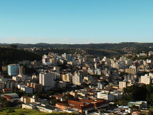Vista panorâmica de Viçosa (Foto: Bruno Costa/Arquivo Pessoal)