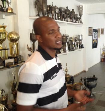 Gilberto, que já atuou pelo Cruzeiro, foi representante do Cano no encontro (Foto: Divulgação Americano)