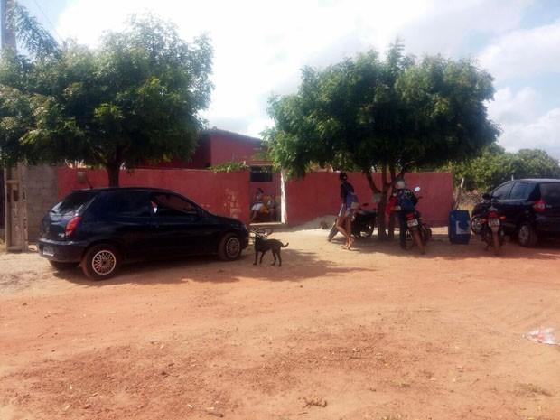 Crime aconteceu na tarde de terça-feira (26) em São Miguel do Gostoso (Foto: Gabriel Neri)