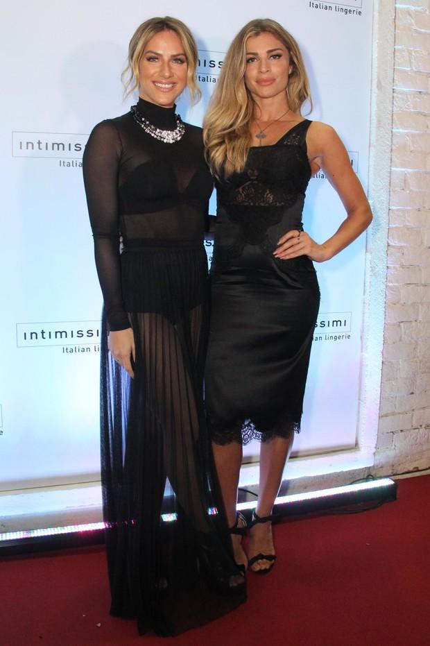 Grazi Massafera e Giovanna Ewbank (Foto: Anderson Borde/AgNews)