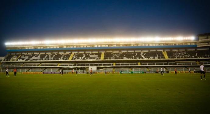 Vila Belmiro, Santos (Foto: Ricardo Saibun / Divulgação Santos FC)