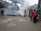 Protesto contra falta de energia fecha Avenida Bonocô, no sentido ACM