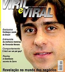 Capa da 'Viril e Viral' de outubro (Foto: Viril e Viral)