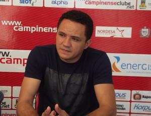 Marquinhos Mossoró, gerente de futebol do Campinense (Foto: Silas Batista)