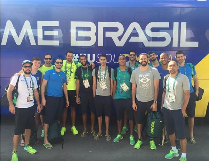 Seleção brasileira de vôlei (Foto: Reprodução / Instagram)