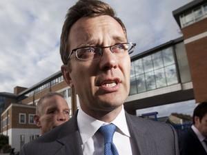 O ex-secretário de comunicação do primeiro-ministro David Cameron Andy Coulson (Foto: AFP)