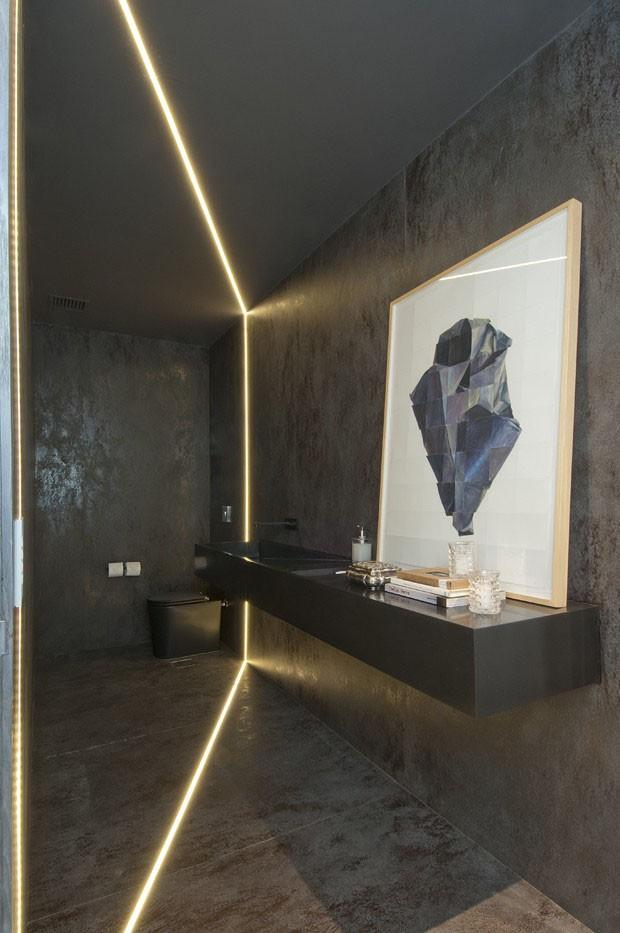 Décor do dia: lavabo escultural e futurista (Foto: divulgação)