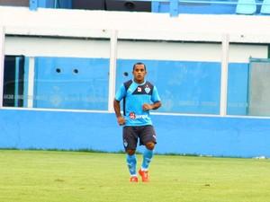 Edinho e Carlinhos durante treino no Paysandu (Foto: Fernando Torres/Ascom Paysandu)