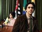 De visual novo, Felipe Abib vai se apaixonar pela mulher errada na TV