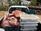 Meia tonelada de carne clandestina é  apreendida em Santa Teresa, ES