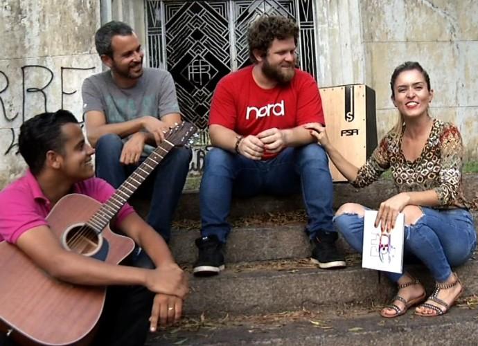 Diana Sabadini conheceu o som da banda 'Milton e os Lagartos' (Foto: Plugue)