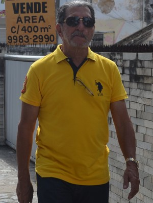 João Máximo, candidato da FPF (Foto: Cadu Vieira / GloboEsporte.com/pb)