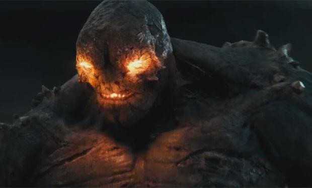 O vilão Apocalypse em cena do novo trailer de 'Batman vs Superman: A origem da justiça' (Foto: Divulgação)