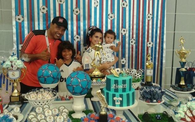 ff34646d62 Aline Barros comemorou o aniversário de 10 anos do filho Nícolas (Foto   Divulgação)