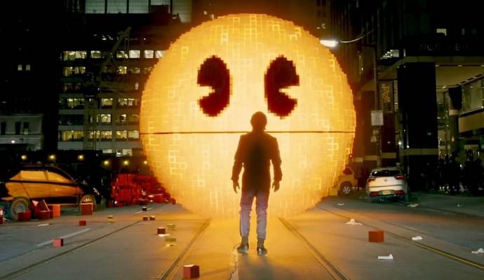 O filme Pixels traz muita ação (Foto: internet)
