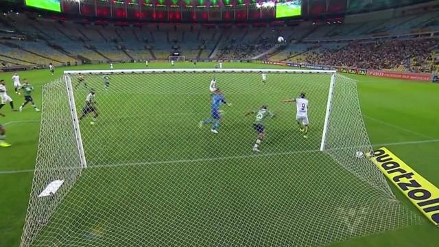 Fluminense e Santos (Foto: Reprodução/TV Tribuna)