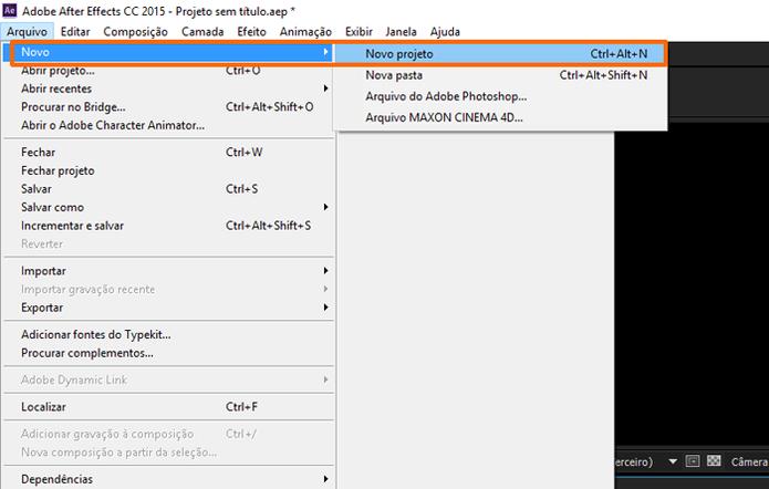 Você também pode usar o atalho ctrl+Alt+N no Windows. (Foto: Reprodução / Gabriel Galli)