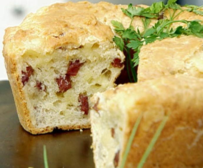 Bolo de Pão de Queijo  (Foto: Mais Você/Gshow)