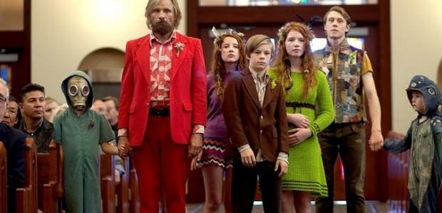 Ben Cash (Viggo Mortensen) e os filhos (Foto: Divulgação)