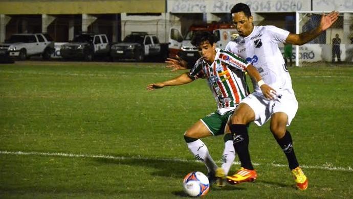 Baraúnas e ABC ficam no empate em 0 a 0 em Mossoró (Foto: Alcivan Costa/Gazeta do Oeste)
