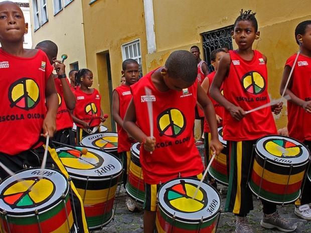 Escola Olodum  (Foto: Divulgação)