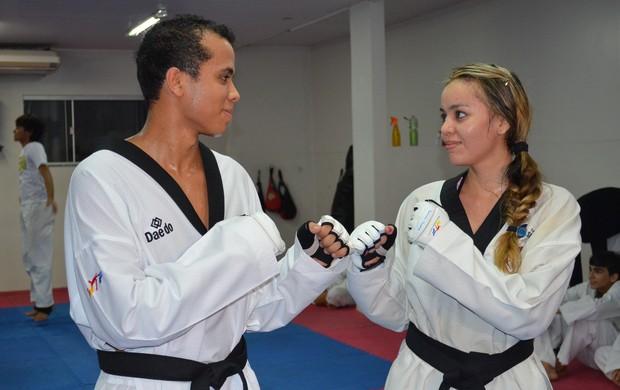 Esporte foi o 'Cupido' nas relações de dois casais de atletas no Amapá (Foto: Wellington Costa/GE-Ap)