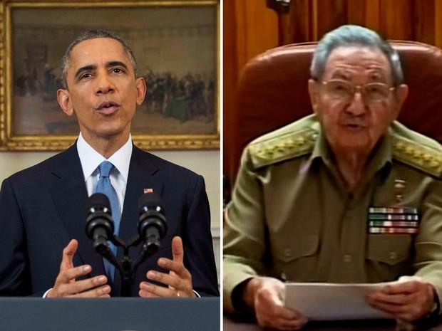 EUA-Cuba (Foto: Doug Mills/Pool/Reuters, Reprodução/Reuters)