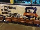 Policiais apreendem acessórios para armamento trazidos do Paraguai