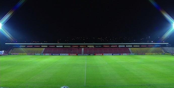 Estádio José Liberatti (Foto: Reprodução/ Premiere)