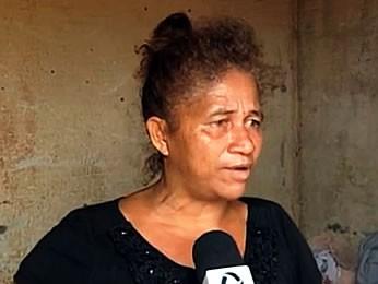 Mãe de menino de 9 anos atacado por pit bull em Sinop (Foto: Reprodução/ TVCA)