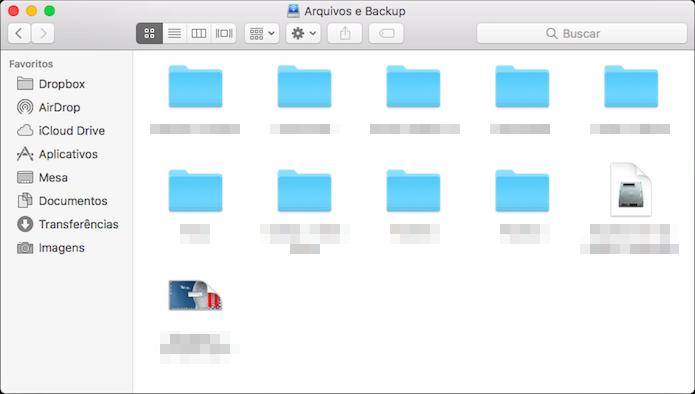 Copie seus arquivos para o HD (Foto: Reprodução/Helito Bijora)