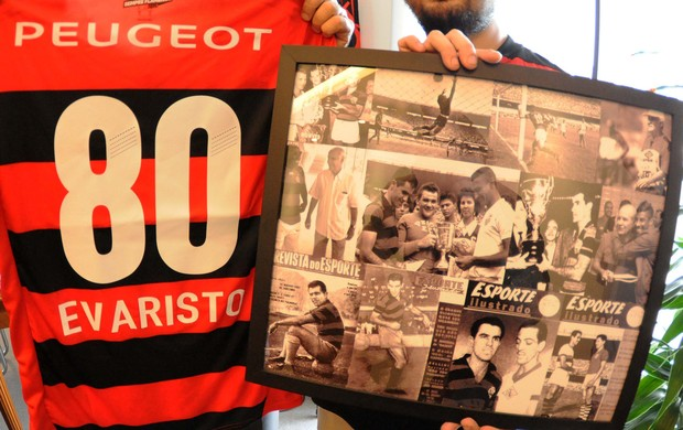 evaristo macedo flamengo 80 anos (Foto: Alexandre Vidal/Fla Imagem)