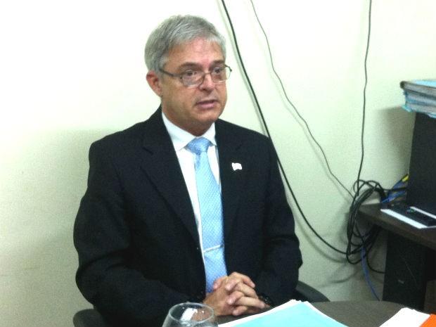 Subsecretário de Atenção à Saúde do Distrito Federal, José Tadeu Palmieri (Foto: Mateus Rodrigues/G1)