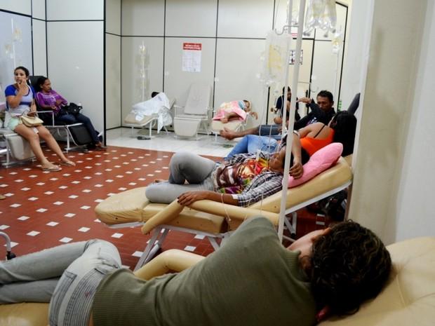 Unidades de Saúde de Cruzeiro do Sul funcionam com a capacidade máxima (Foto: Genival Moura/G1)