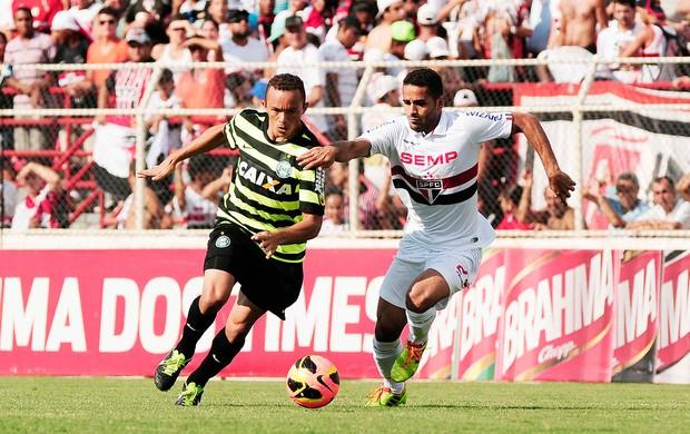 Douglas jogo São Paulo e Coritiba (Foto: Rodrigo Villalba / Futura Press)