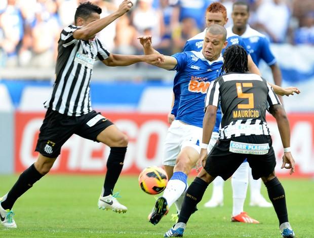 Nilton, Cruzeiro x Santos (Foto: Juliana Flister/Vipcomm)