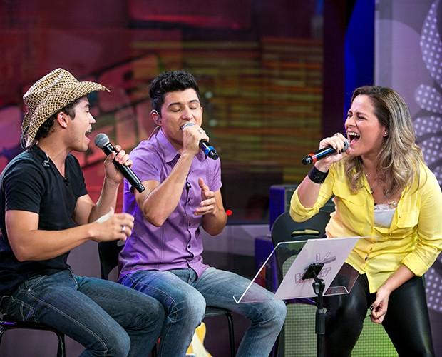 A música deles é do grupo Legião Urbana (Foto: Isabella Pinheiro/Gshow)