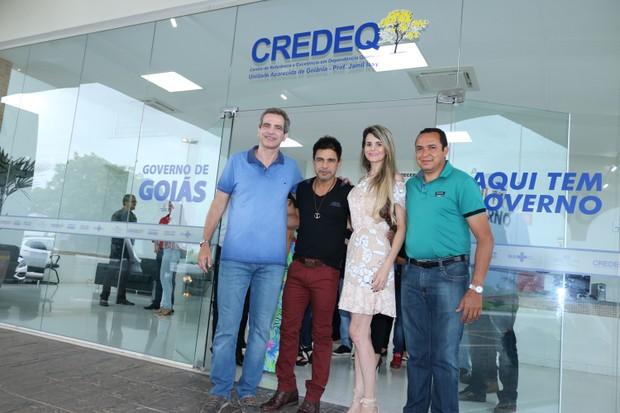 Zezé di Carmago e Graciele Lacerda (Foto: Sabba Nogueira / Divulgação)