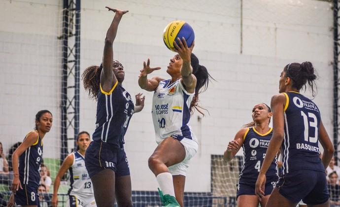 Luana São José Basquete Feminino x Franca Basquete Feminino (Foto: Arthur Marega Filho/São José Desportivo)
