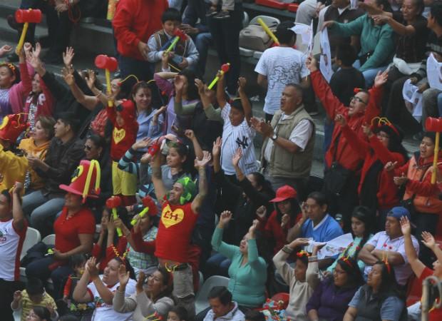 Fãs se despedem de Roberto Bolãnos (Foto: Getty Images)