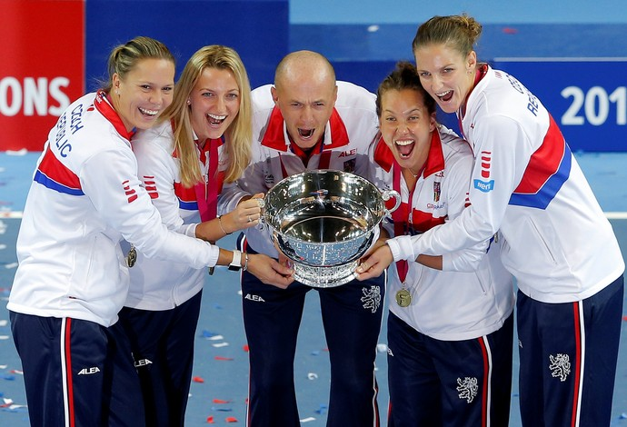 República Tcheca campeã Fed Cup tênis (Foto: Reuters)