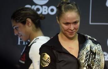 """""""Não esperava Ronda vir tão forte para atacar"""", diz técnico e noivo de Bethe"""