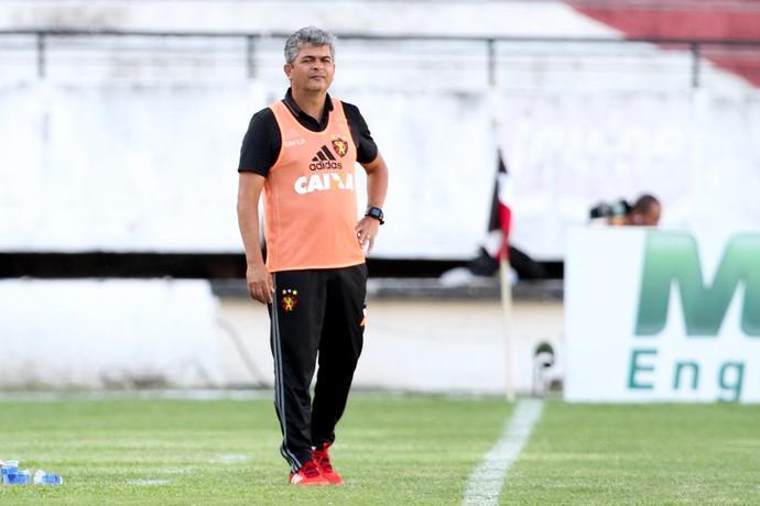Ney Franco Central x Sport Campeonato Pernambucano (Foto: Marlon Costa / Pernambuco Press)