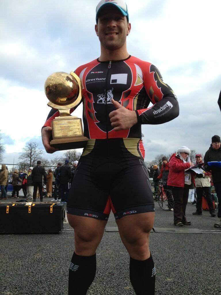 Robert Förstemann ciclismo Homem-Coxa ciclista