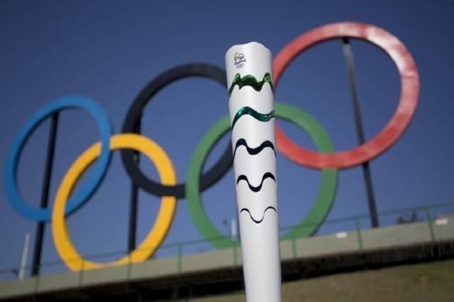 Tocha olímpica (Foto: Daniel Ramalho/Rio 2016)