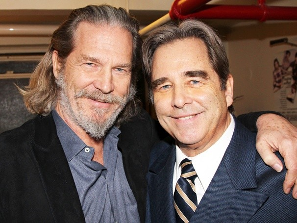 Jeff e Beau Bridges (Foto: Divulgao)