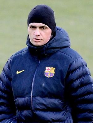 Tito Vilanova treino Barcelona (Foto: AFP)