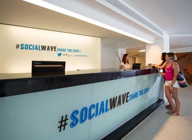 """@SolWaveHouse, o """"Twitter hotel"""" em Maiorca (Foto: Divulgação/Meliá)"""