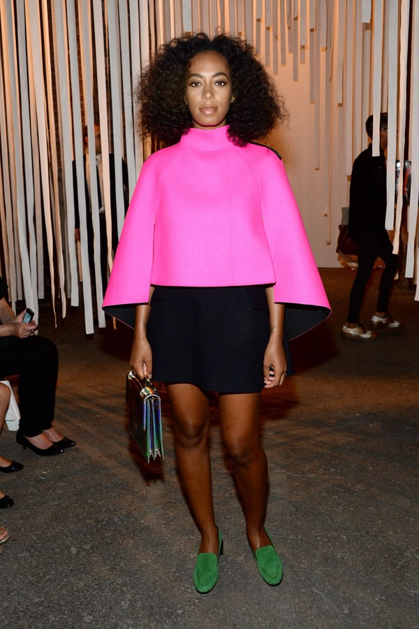 Solange Knowles casou aos 17 anos (Foto: Getty Images)